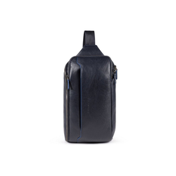 Piquadro Rucksack B2S Querträgertasche RFID 35 cm blau