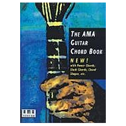 The AMA Guitar Chord Book  für Gitarre - Buch