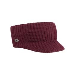 Eisbär Stirnband (1-St) Headband mit Schirm rot