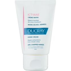 Ducray Ictyane Feuchtigkeit spendende Creme für die trockene und rissige Haut an den Händen 50 ml
