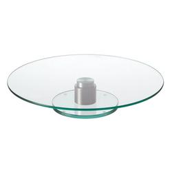LEONARDO Tortenplatte Turn 2-tlg., Glas