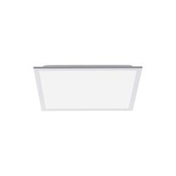 Leuchtendirekt LED-Deckenleuchte Fleet in weiß, 44,5 x 44,5 cm
