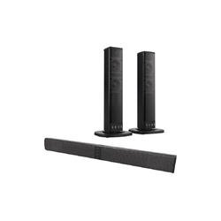 Xoro XORO HSB 55 Soundbar (Bluetooth, 20 W, 2in1-Bluetooth-Soundbar, Bluetooth 5.0, 4000mAh Akku, kompaktes Design)