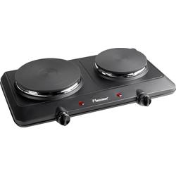Doppelkochplatte AHP250, Gusseisen, Kochplatten, 52939965-0 schwarz schwarz
