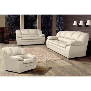 COTTA Polstergarnitur, (Set, 3-tlg), Garnitur: Sessel, 2-Sitzer, 2,5-Sitzer beige