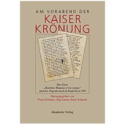 Am Vorabend der Kaiserkrönung - Buch