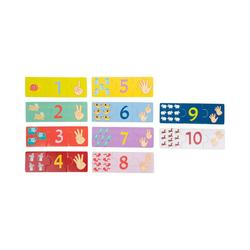 Small Foot Puzzle Lernpuzzle Zählen, 30 Puzzleteile bunt