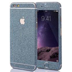 Glitzerfolie für iPhone 6 / 6s - Blau
