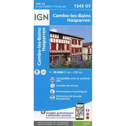 Cambo-les-Bains - Hasparren 1:25.000