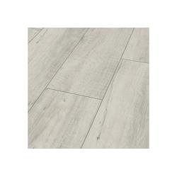Bodenmeister Laminat Dielenoptik Eiche weiß sägerau, Packung, Landhausdiele 1380 x 244 mm, Stärke: 8 mm