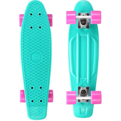 Star-Skateboard Skateboard, Kicktail blau