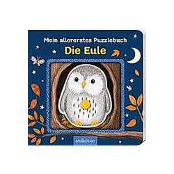 Mein allererstes Puzzlebuch - Die Eule. Marina Singer  - Buch