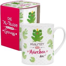 XL-Tasse mit Märchen Frosch