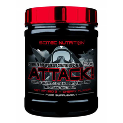 Attack 2.0 - Pre-Workout Booster - 320 g Dose - Scitec Nutrition® - Birne