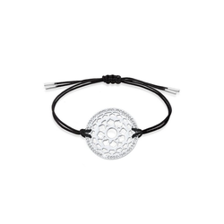 Nenalina Armband Kronen Chakra Yoga Kristalle 925 Silber silberfarben
