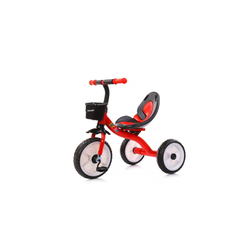 Chipolino Dreirad Dreirad Strike, ab 3 Jahre max. Traglast 25 kg komfortabler Sitz rot