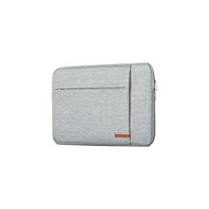 CASEZA MacBook Pro 13 (2020-2016) Hülle/MacBook Air (2020-2018) Tasche Grau - Laptoptasche London Laptop Sleeve Laptophülle für MacBook Air/MacBook Pro - Wasserfest & 2 Seitentaschen