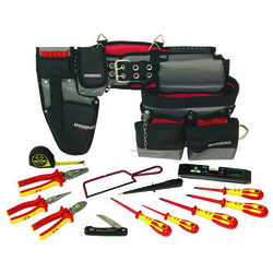 C.K. 595001 Elektriker Werkzeugset inkl. Werkzeuggürtel
