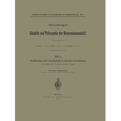 Strahlengang und Vergrößerung in optischen Instrumenten als Buch von Na Keferstein