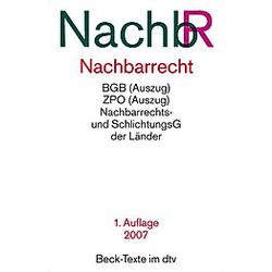 Nachbarrecht (NachbR) - Buch