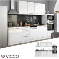 Vicco Küchenzeile Fame-Line 295 cm