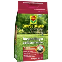 Floranid Rasendünger plus Unkrautvernichter 12 kg