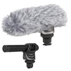 CANON DM-100 Richtmikrofon für Kameras mit Mini-Zubehörschuh