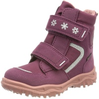 Superfit Kinder-Klett-Boots in beere/rosa