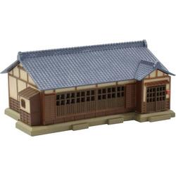 Rokuhan 7297205 Z Haus mit dunkelblauen Ziegeldach