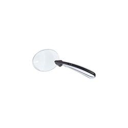 Wedo Leselupe rahmenlos mit LED sw/ch 18,5x8cm rund