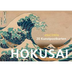 Postkartenbuch Katsushika Hokusai als Buch von Hokusai/ Katsushika Hokusai