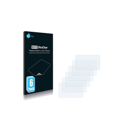 Savvies Schutzfolie für 1&1 (1und1) Smartpad, (6 Stück), Folie Schutzfolie klar