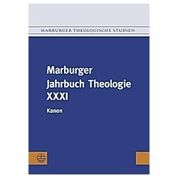 Marburger Jahrbuch Theologie - Buch
