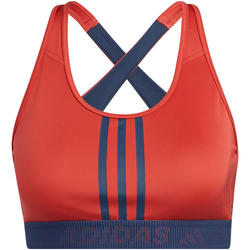 adidas DON'T REST 3-STRIPES AEROREADY BH Damen in crew red-crew navy-crew red, Größe L crew red-crew navy-crew red L