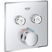 GROHE Grohtherm SmartControl Thermostat mit 2 Absperrventilen (29124000)