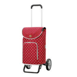 Andersen Shopper Alu Star Shopper Ole Einkaufstrolley 57 cm rot