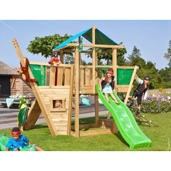 Jungle Gym Spielturm Jungle Hut Boat, BxTxH: 404x367x290 cm