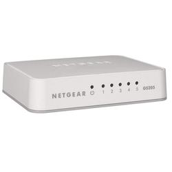 NETGEAR Home/Office Ethernet Switches Netzwerk-Switch (Switch GS205 -5 Port)