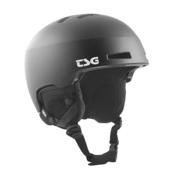 Helm TSG - tweak solid color satin black (147) Größe: L/XL