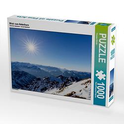 Blick vom Nebelhorn Lege-Größe 64 x 48 cm Foto-Puzzle Bild von TomKli Puzzle