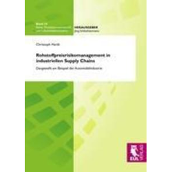 Rohstoffpreisrisikomanagement in industriellen Supply Chains als Buch von Christoph Hardt