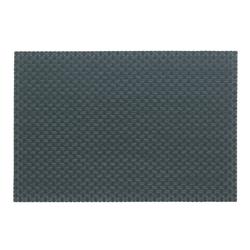 Tisch-Set Plato Polyvinyl grau 45x30cm