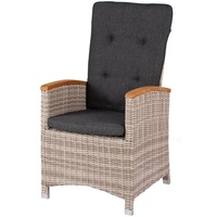 beneliving Siena Relaxsessel 59 x 52 x 108 cm sand