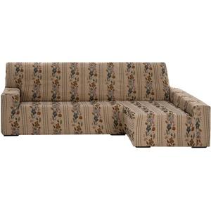 Martina Home Thalia Sofahusse elastisch Chaise Longue, Stoff, Mehrfarbig, 40 x 30 x 15 cm