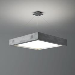 Beton-Hängeleuchte-LED GEO