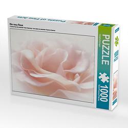 Die rosa Rose Lege-Größe 64 x 48 cm Foto-Puzzle Bild von Digital-Art Puzzle