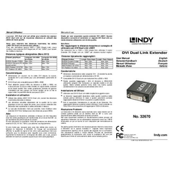 LINDY DVI-D Dual Link Repeater/Extender