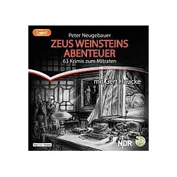 Zeus Weinsteins Abenteuer  3 Audio-CD  MP3 - Hörbuch