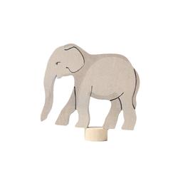 GRIMM´S Spiel und Holz Design Kerzenständer, Stecker Elefant
