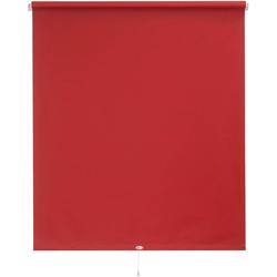 Springrollo Uni, sunlines, verdunkelnd, mit Bohren, 1 Stück rot 62 cm x 180 cm